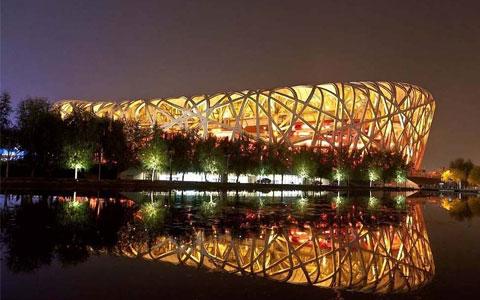 2008年北jing奥运hui主huichang鸟巢工程